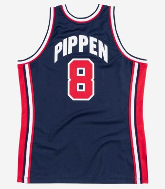 Authentic Jersey Team NBA Scottie Pippen_2